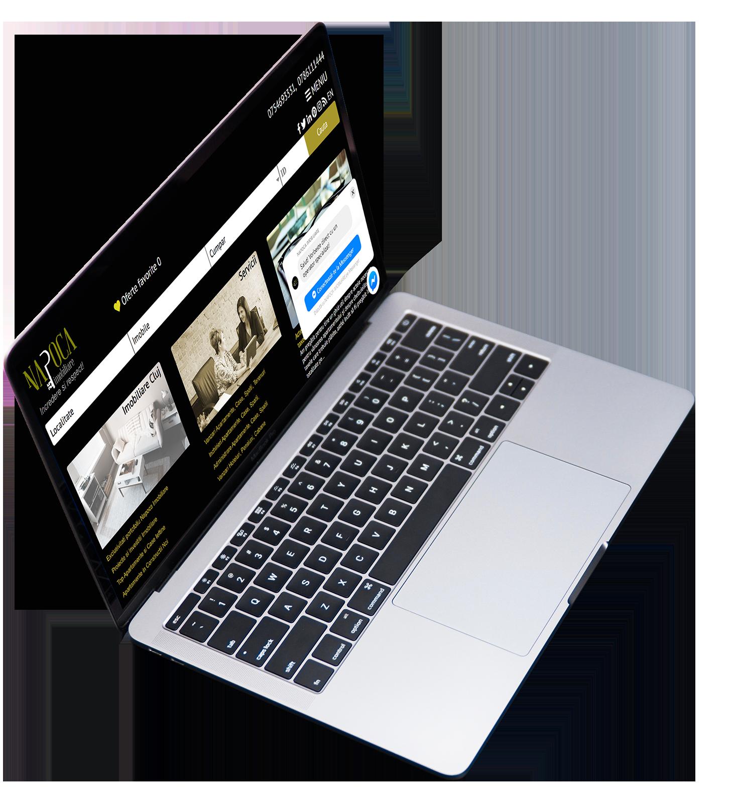 laptop site napoca imobiliare