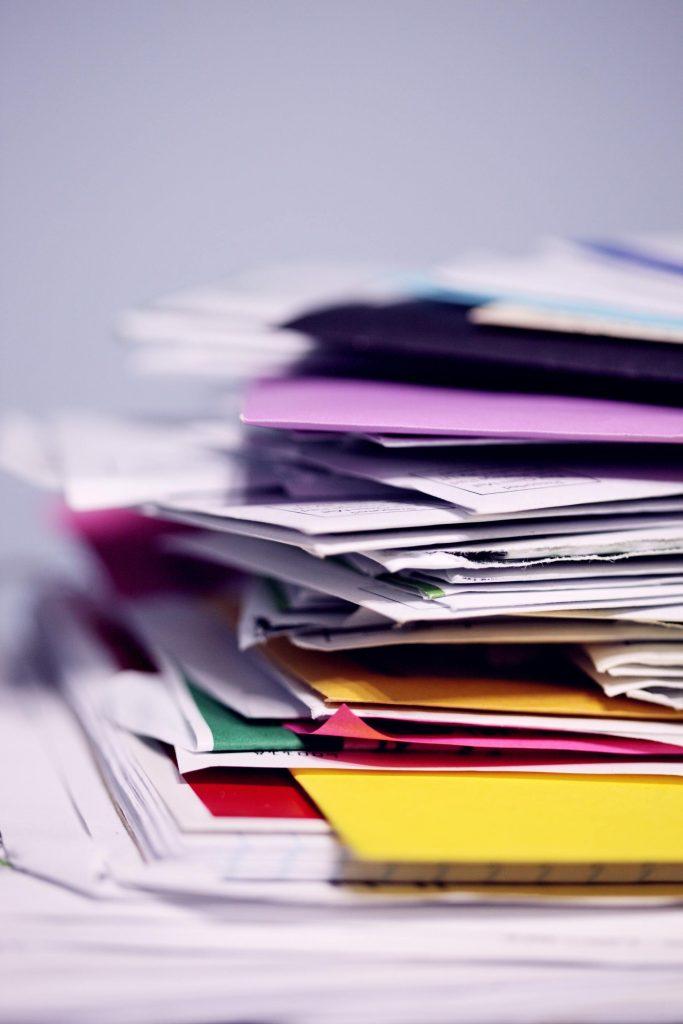 documente neimportante curatenie