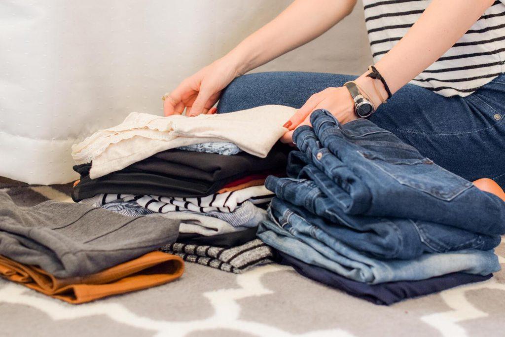 haine vechi curatenie de primavara